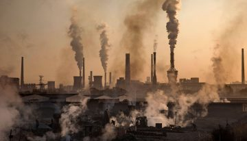 In India, air pollution is the third-highest cause of death among all health risks: report