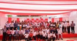 """CSR """"1st anniversary of Maheshwari Village adoption """""""