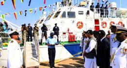 India hands over interceptor boats to Mozambique