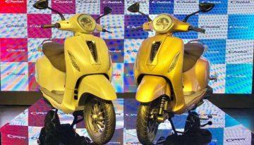 Bajaj brings back the loved Chetak scooter in EV avatar