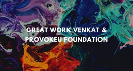 ProvokeU foundation – Helping Chennai Fight Covid19