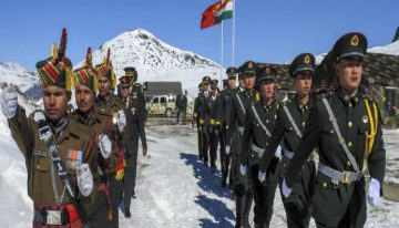 COVID-19 delayed Indian exercise, Chinese moved into key positions
